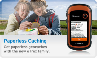 Paper free Caching with the eTrex family
