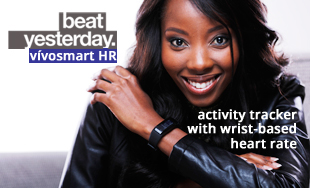 vivosmart HR - activity tracker with wrist-based Heart rate monitor